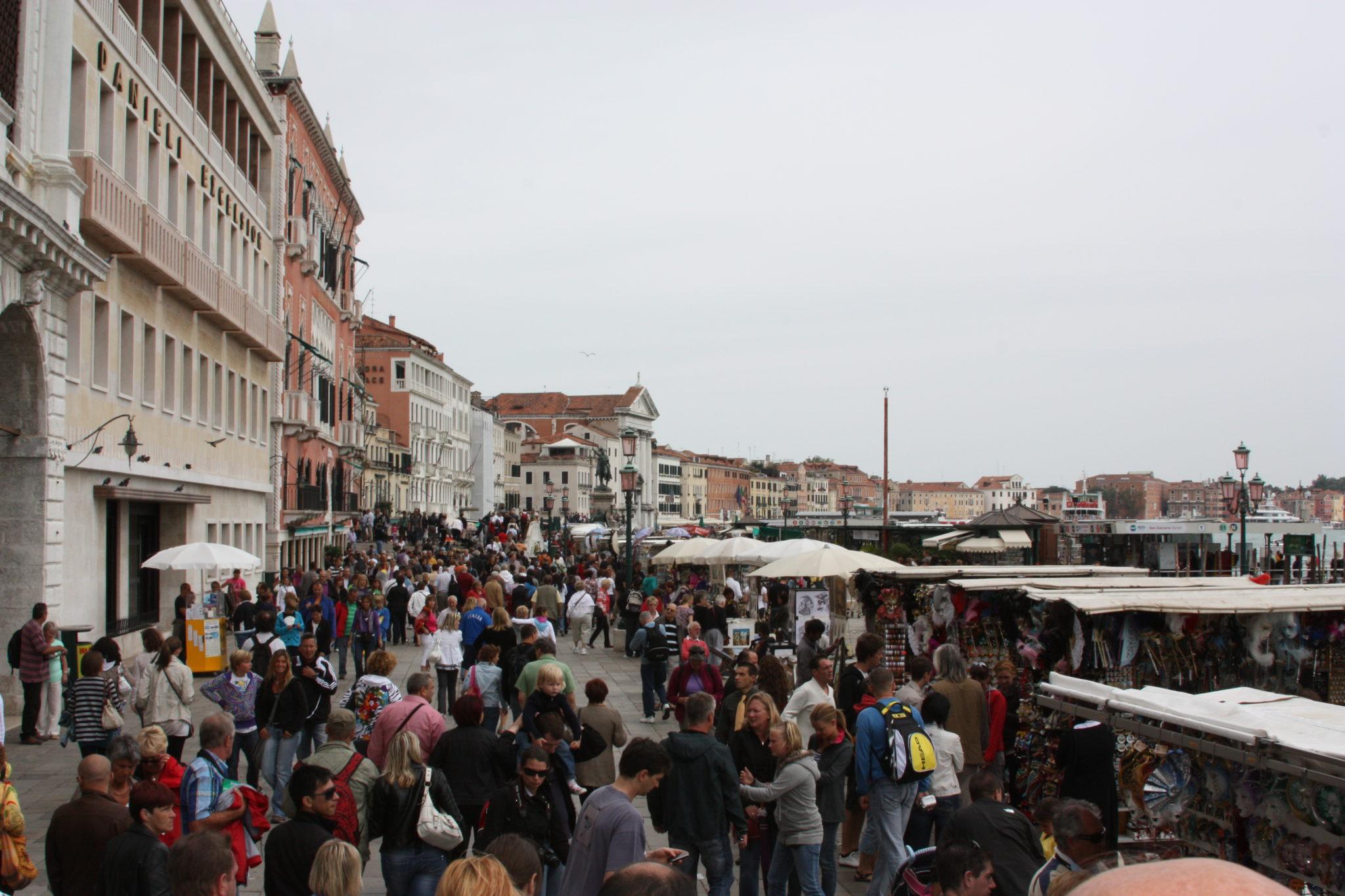 Венеция канал
