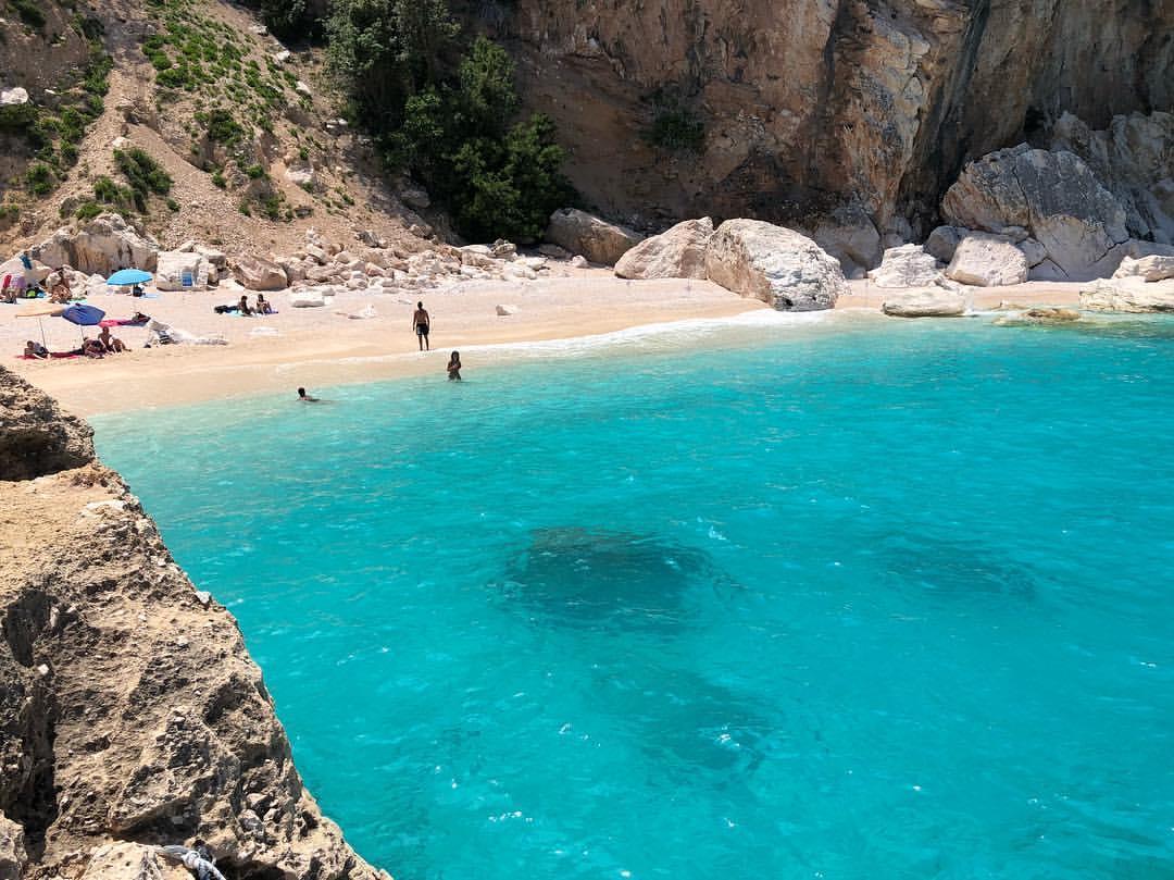 Сардиния. Лучшие пляжи Кала Мариолу