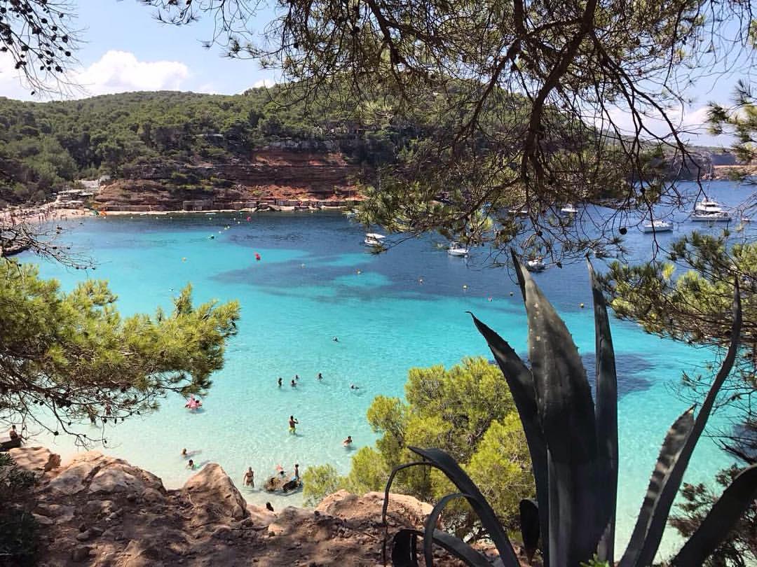 beach Cala Salada, Ibiza