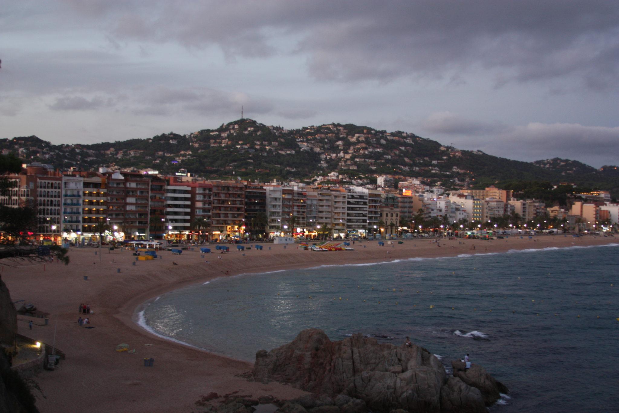 Пляж Ллорет де Мар