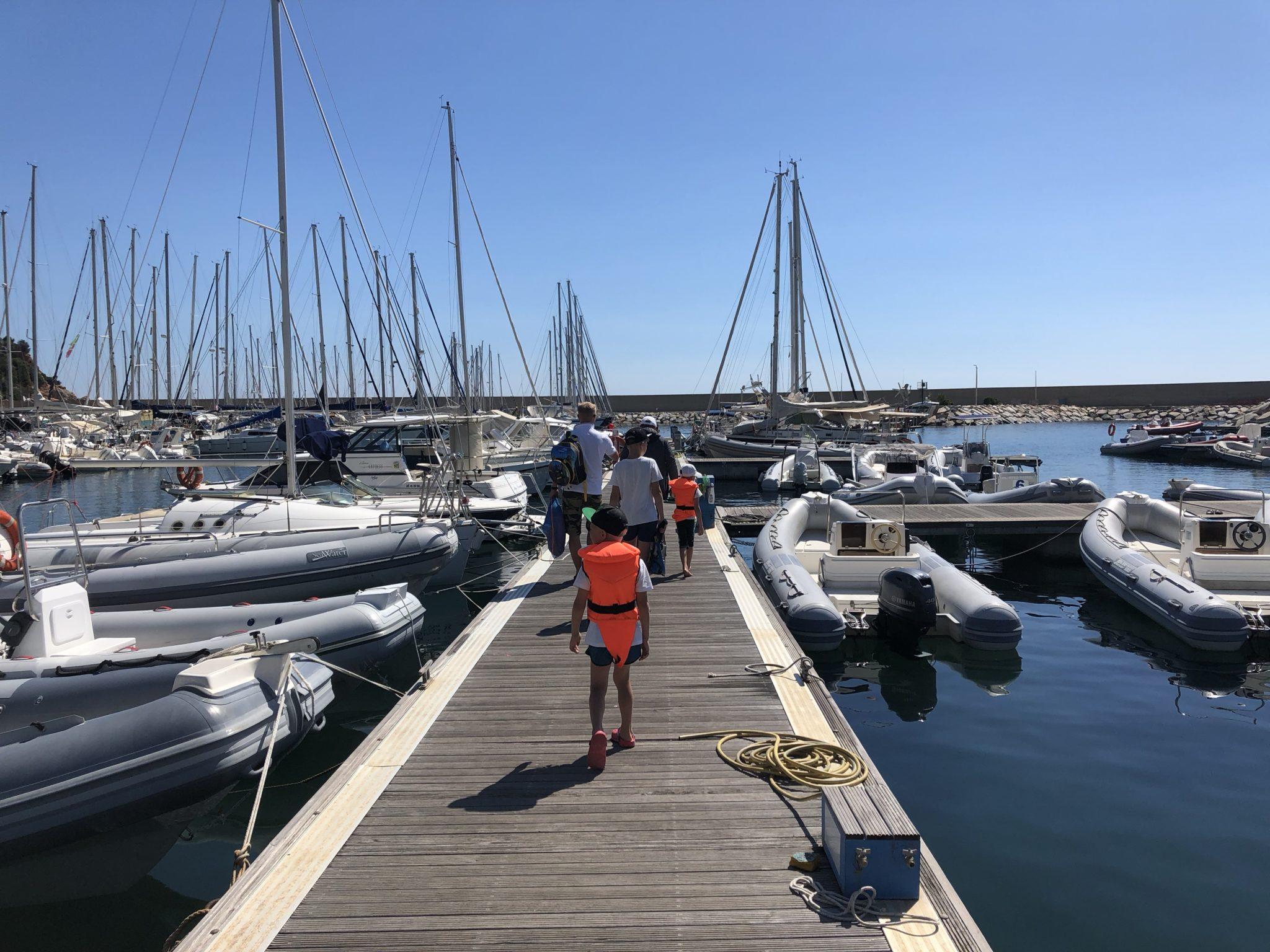 аренда лодки на Сардинии
