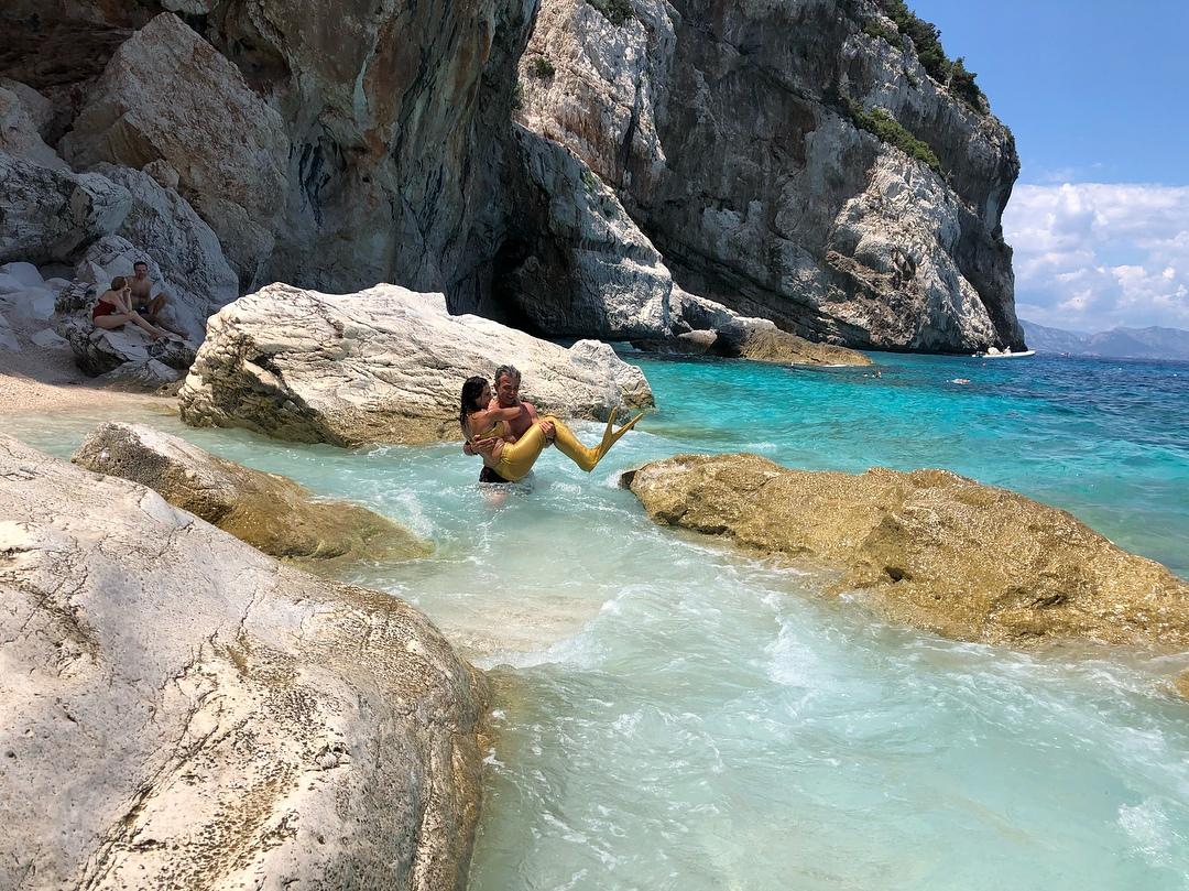пляж Cala Mariolu, Sardinia