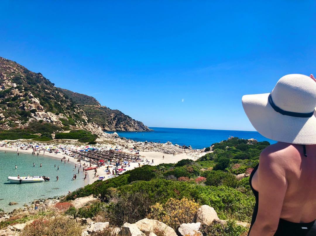 Сардиния. Лучшие пляжи. Пунта Молентис