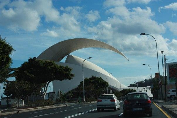 столицa Santa Cruz. Tenerife
