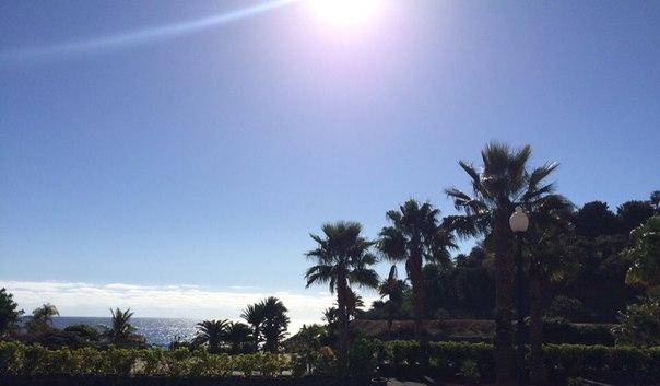 пляж на Тенерифе Ель Дюке