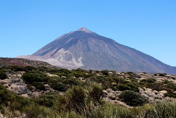 Вулкан Тейде Teide Tenerife