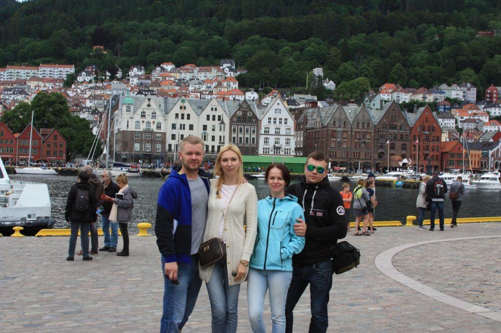 Норвегия Берген