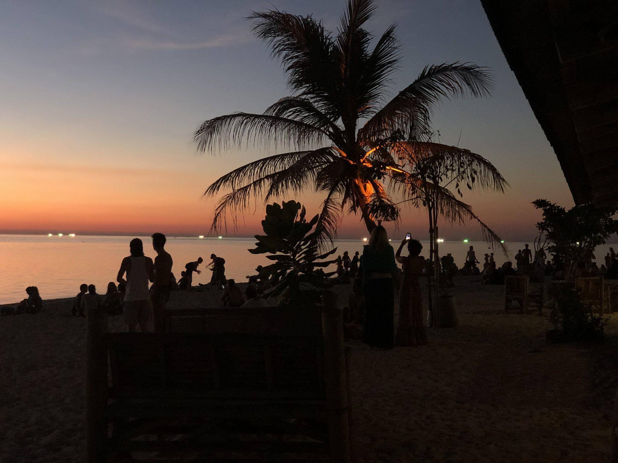 пляжи на Пангане