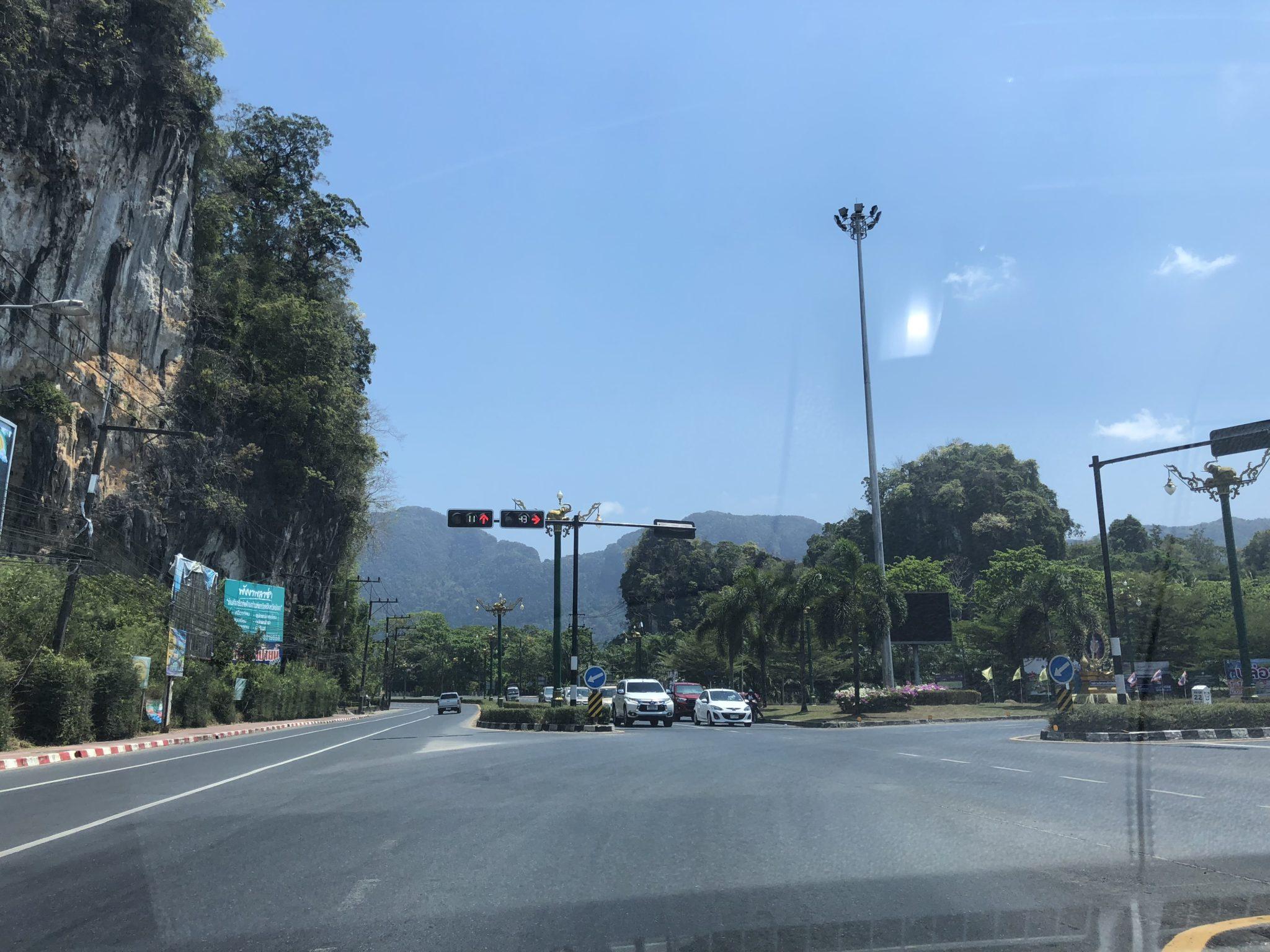 дорога с Пхукета до Самуи